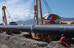 西藏燃气管道工程施工