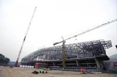 重庆高铁站钢结构项目